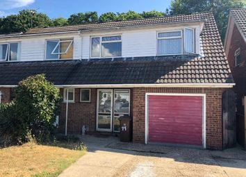 Thumbnail 4 bed semi-detached house for sale in Rugby Close, Walderslade