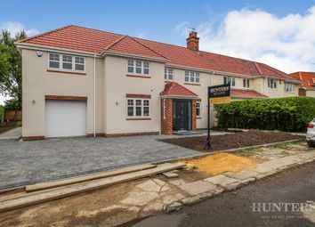 Thumbnail 5 bed semi-detached house for sale in The Crescent, Cleadon, Sunderland