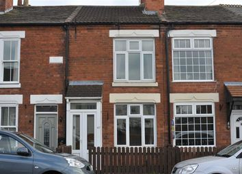 Thumbnail 2 bed terraced house to rent in Coventry Road, Burbage, Hinckley