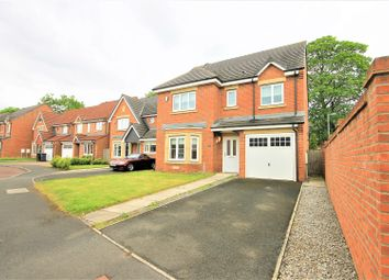 Thumbnail 4 bed detached house for sale in Highfield Rise, Chester Le Street