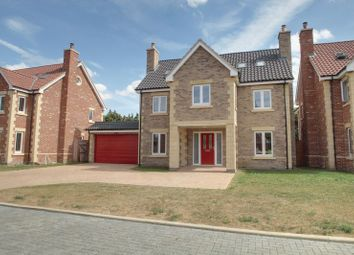 Thumbnail 5 bed detached house for sale in Highfields Grange, Oundle Road, Peterborough