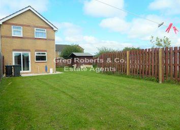 Thumbnail 3 bed semi-detached house for sale in Ty Bryn, Tredegar, Blaenau Gwent.