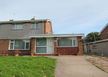 Thumbnail 3 bed semi-detached house for sale in Kennedy Rise, Barry