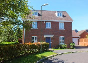 Thumbnail 5 bed detached house for sale in Turgis Road, Fleet, Hampshire