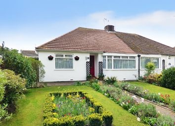 Thumbnail 2 bed semi-detached bungalow for sale in Worthing Road, Rustington, Littlehampton