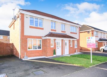 Thumbnail 3 bedroom semi-detached house for sale in Redpath Drive, Cambuslang, Glasgow
