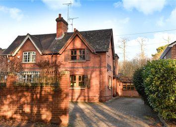 Thumbnail 4 bed semi-detached house for sale in Old Kingsbridge Cottages, Nine Mile Ride, Wokingham