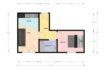 Thumbnail 1 bed detached house for sale in Victoria Parade, Ashton-On-Ribble, Preston, Lancashire