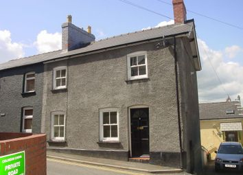 Thumbnail 2 bed end terrace house to rent in St. Michael Street, Brecon