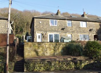 Thumbnail 3 bed end terrace house for sale in Woodhall Crescent, Copley, Halifax