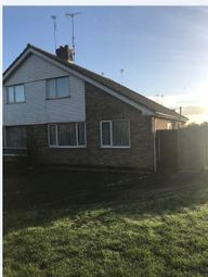 Thumbnail 3 bed semi-detached house to rent in London Road, Roade, Northampton