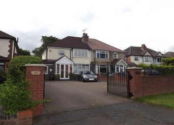 Thumbnail 4 bed semi-detached house to rent in Streetsbrook Road, Shirley, Solihull