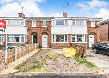 Thumbnail 3 bed terraced house for sale in Catherine Road, Worcester