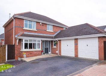 Thumbnail 4 bed detached house for sale in Croyde Close, Hindley Green, Wigan