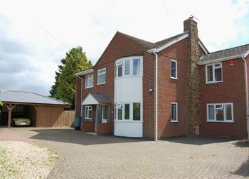 Thumbnail 4 bedroom detached house for sale in Station Road, Long Buckby, Northampton