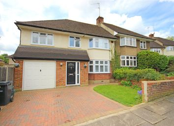Thumbnail 4 bed semi-detached house to rent in Orchard Close, St. Albans, Hertfordshire