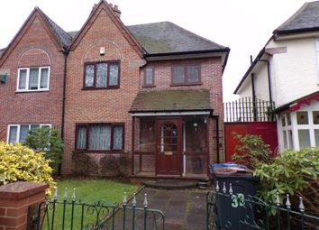 Thumbnail 3 bed semi-detached house for sale in Jaffray Road, Birmingham, West Midlands