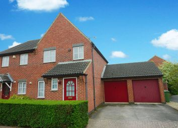 Thumbnail 3 bed semi-detached house for sale in Synderford Close, Didcot
