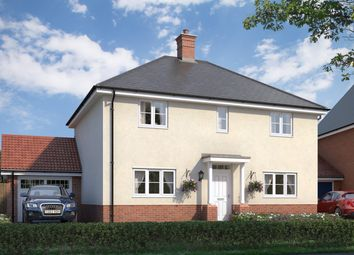Thumbnail 4 bed detached house for sale in The Woodlark At Countryside At Chesterwell, Mile End, Colchester, Essex