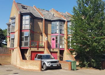 Thumbnail 3 bed terraced house to rent in Holyoake Court, Bryan Road, London