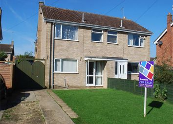 Thumbnail 3 bed semi-detached house for sale in Saxon Way, Bourne, Lincolnshire