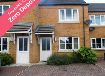 Thumbnail 2 bedroom terraced house to rent in Harvester Close, March