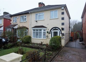 Thumbnail 3 bed semi-detached house for sale in Marsh Lane, Wolverhampton