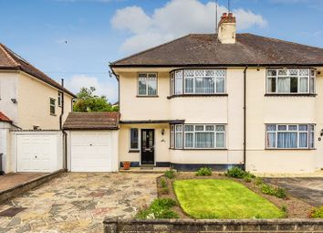 Thumbnail 3 bed semi-detached house for sale in Chaldon Way, Coulsdon