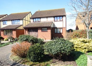Thumbnail 4 bedroom detached house for sale in Wade Close, Westonzoyland, Bridgwater