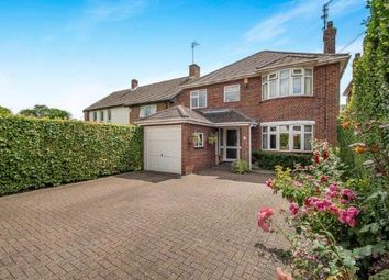 Thumbnail 4 bed detached house for sale in Oundle Road, Orton Longeville, Peterborough, Cambridgeshire