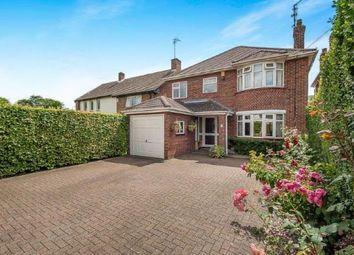 Thumbnail 4 bedroom detached house for sale in Oundle Road, Orton Longeville, Peterborough, Cambridgeshire