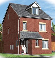 Thumbnail 4 bed detached house for sale in The Glaramara House Type, Thorncliffe South Development, Barrow-In-Furness