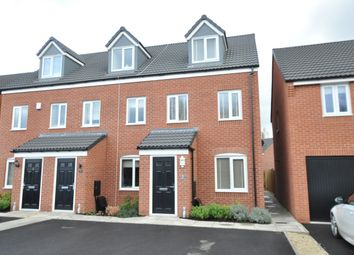 Thumbnail 3 bed semi-detached house for sale in Adkins Close, Stretton, Burton-On-Trent