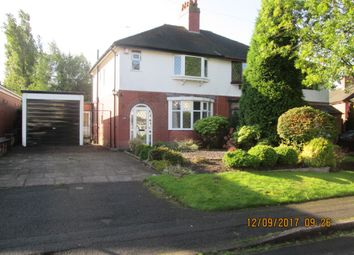 Thumbnail 2 bed semi-detached house to rent in Eleanor Crescent, Westlands, Newcastle Under Lyme, Staffordshire