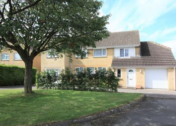 Thumbnail 4 bed detached house for sale in Stonefield Drive, Highworth
