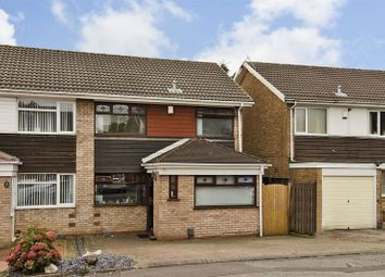 Thumbnail 3 bed semi-detached house for sale in Alvington Close, Willenhall