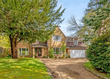 Thumbnail 5 bed detached house for sale in Manor Gardens, Lower Bourne, Farnham, Surrey