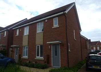 Thumbnail 2 bedroom semi-detached house to rent in Dragonfly Drive, Henley Green