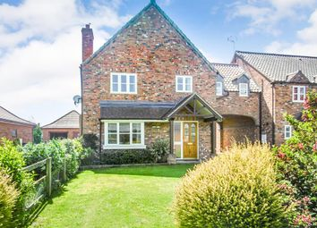 Thumbnail 4 bedroom link-detached house for sale in Low Street, East Drayton, Retford