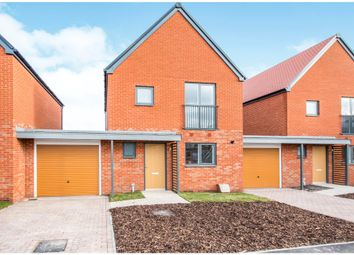 Thumbnail 3 bed detached house for sale in Victory Way, St. Leonards, Ringwood