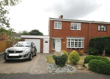 Thumbnail 3 bed semi-detached house to rent in Millmead Drive, Shrewsbury