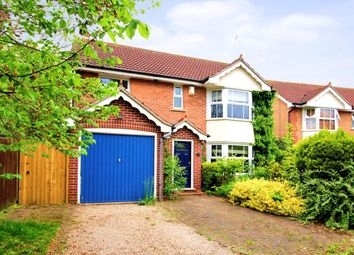 Thumbnail 4 bed detached house for sale in Bostock Close, Elmesthorpe, Leicester