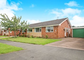 Thumbnail 2 bed semi-detached bungalow for sale in Castle Park, Hemyock, Cullompton