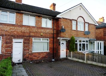 Thumbnail 3 bedroom terraced house to rent in Pitmaston Road, Hall Green, Birmingham