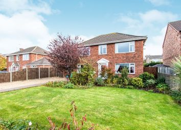 Thumbnail 4 bed detached house for sale in Brant Road, Lincoln