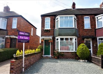 Thumbnail 2 bed end terrace house for sale in Conington Avenue, Beverley
