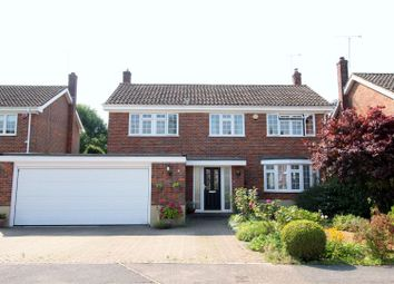 Thumbnail 4 bed detached house for sale in Park Close, Brookmans Park, Herts.