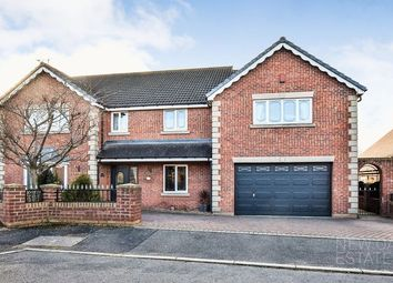 Thumbnail 5 bed detached house for sale in Redbrook Avenue, Hasland, Chesterfield