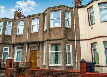 Thumbnail 3 bed terraced house for sale in Wingate Street, Newport