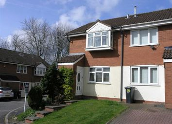 Thumbnail 2 bedroom town house for sale in Roper Way, Dudley
